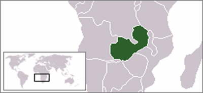Zambia in maps part 1 major maps of zambia plus map of africa zambia location on world map gumiabroncs Choice Image