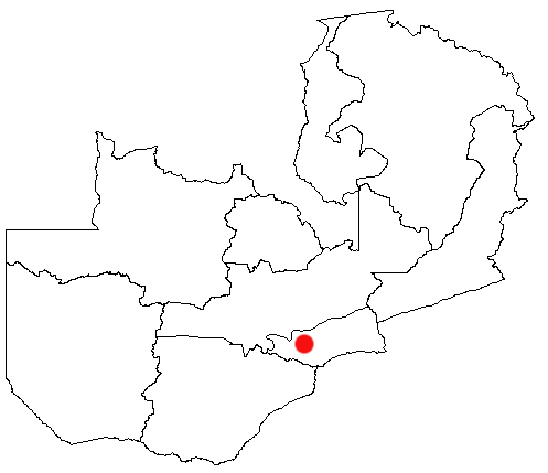 map of zambia africa